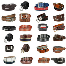 Wholesale Lot Tommy Hilfiger Men's Premium Leather Belt Assorted Styles & Sizes