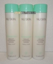 Three pack: Nu Skin Nuskin Creamy Cleansing Lotion (Normal to Dry) 150ml 5oz x3 - $60.00
