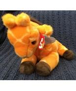 TY 1998 Beanie Baby Buddy TWIGS the Giraffe Rare! 1st Buddy Retired MWMT... - $18.80