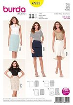 Ladies Skirt Burda Style Pattern - $13.72