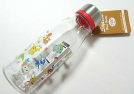 Pokemo Water Bottle Blow Bottlee 400ml Pikachu Skater Cute Goods Gift - $35.52