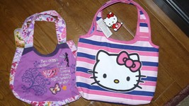 Lot of 2 girls or teens purses Tinkerbell and H... - $19.17