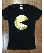 Neuf Authentique Pac-Man Film Logo Jeunes T-Shirt Taille M Enlèvement - $32.26