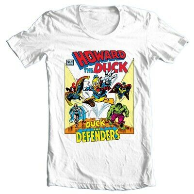Howard the Duck and The Defenders Marvel comics bronze age cotton graphic tee