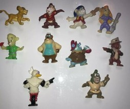 Disney Chip 'n Dale Rescue Rangers Kellogg's toy figurines from 1991 lot... - $28.04