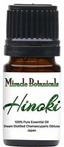 Miracle Botanicals Hinoki Essential Oil - 100% Pure Chamaecyparis Obtusa - Thera