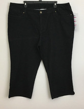 Women With Control My Wonder Jean Black Capris sz 22W New NWT - $29.69