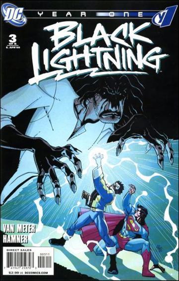 BLACK LIGHTNING Year One #1,3,5,6 Lot (DC/2009)