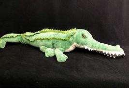 Plush Alligator Wildlife Artists Green 22 Inches Stuffed Animal Plush Gator - $18.04