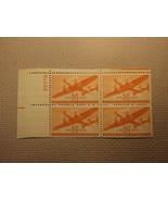 USPS Scott C31 50c Air Mail Transport Plane 1941 Mint NH OG Plate Block ... - $65.91