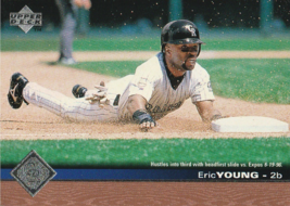 1997 Upper Deck #55 Eric Young - $0.50