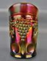Carnival Glass - Northwood GRAPE & CABLE Purple / Amethyst Tumbler 4825 - $31.05