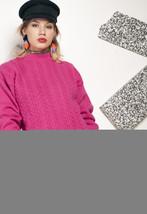 Pink knit jumper - 90s vintage sweater - $40.06