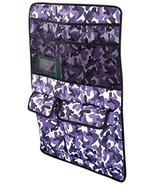 Cruising Companion 600D Polyester Small Pet Car Seat Organizer, Purple Camo - $15.41