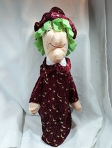 """Halloween Witch Plush Doll 14"""" with Stars And Moon Dress 2014 - $12.38"""