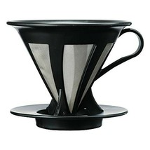 Hario : Cafeor stainless coffee dripper size 02 - Black - (CFOD-02B) - $19.73