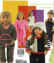 "Knitting Patterns-Fun to Knit Doll Clothes-Wardrobe for 18"" Doll-8 Designs - $7.66"