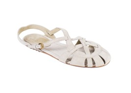 The Original Car Shoe Womens Beige Suede Caged Sandals Size 40/10 RTL$39... - $280.25