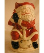 Fitz & Floyd 1988 Old World Santa 64 oz. 2 oz. Pitcher - $18.89