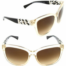 Coach Sunglasses HC8156Q 5323/13 Crystal Light Brown Black / Brown Gradi... - $89.09