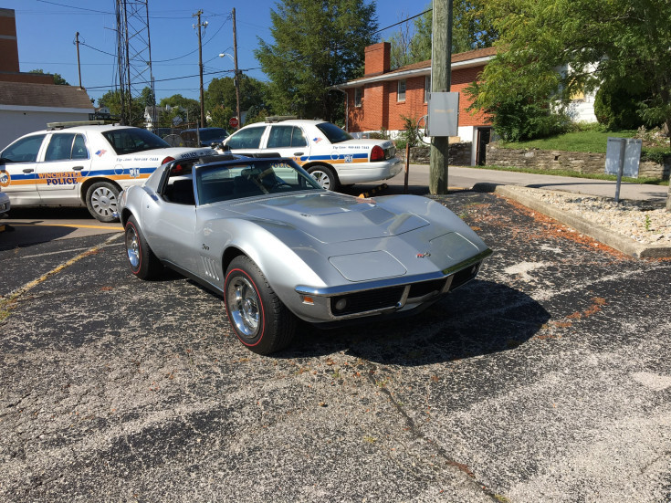 1969 Chevrolet Corvette Coupe For Sale In Winchester, Kentucky 40391