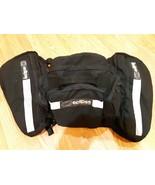 Saddlebags with top rear bag Universal Motorcycle Luggage Eclipse USA ra... - $98.01