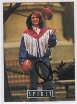 Lesley Visser Signed Autographed 1992 Pro Line Football Announcer Card - $9.99