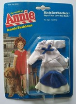 The World of Annie Doll Fashions Sailor Dress Outfit Knickerbocker Sealed 1982 - $22.97