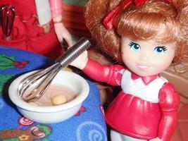 Ceramic Bowl of Egg Yolk & Whisk Lot fits Fisher Price Loving Family Dol... - $3.95