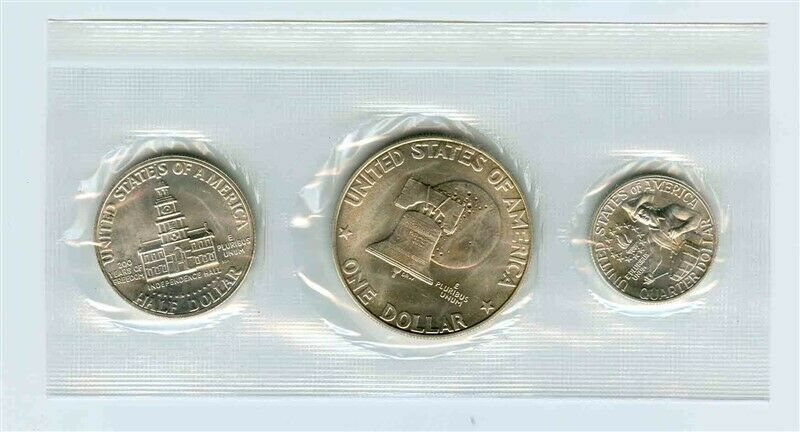 United States Bicentennial Silver Uncirculated Set 1776 1976 image 3
