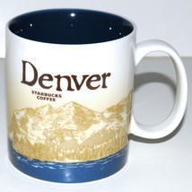 Starbucks Coffee Denver Mug Collector Series 2009 Cup 16 oz Rocky Mountains - $26.24