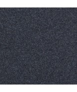"63"" x 60"" Maharam Kvadrat Divina MD 193 Charcoal Heather Wool Upholstery Fabric - $43.23"