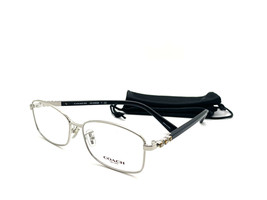 NEW COACH HC 5083-B 9015 SILVER WOMEN'S AUTHENTIC EYEGLASSES FRAME 53-14 - $58.17