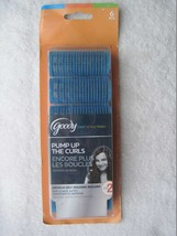 6 Goody Pump Up The Curls Medium Self Holding Rollers Kit Hair Curlers Roll Curl - $12.00