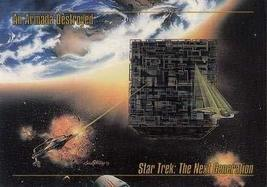 1993 Skybox Star Trek Master Series #19 An Armada Destroyed M/NM - $2.93