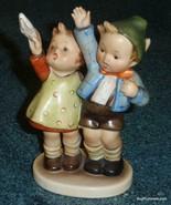 **ULTRA RARE** Auf Wiedersehen Goebel Hummel Figurine #153/0 TMK2 Boy Wi... - $1,678.09