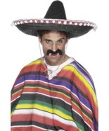 MEXICAN SOMBRERO STRAW HAT,  MEXICO, UNISEX - $12.31