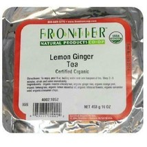 Frontier Lemon Ginger Tea (1x1lb ) - $34.06