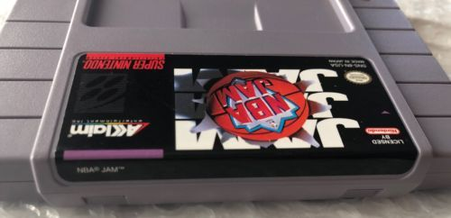 ☆ NBA Jam (Super Nintendo 1994) SNES Game Cart Tested Working ☆