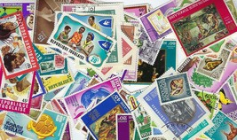 Togo 100 Different Stamps