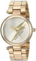Marc Jacobs Women's MJ3545 Dotty Bolt Crystal Gold Stainless Steel Watch - $164.94