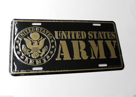 US United States Army Logo Metal License Plate ... - $7.79