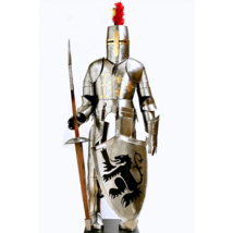 MEDIEVAL KNIGHT FULL SUIT OF ARMOUR REENACTMENT/LARP COSTUME  - $922.47