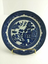 """Johnson Bros Brothers Blue Transfer Willow Saucer Dish Wall Plate 5 1/2""""... - $7.49"""