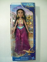 "NEW DISNEY ALADDIN MOVIE PRINCESS JASMINE 11"" DOLL HASBRO 2018 - $23.47"