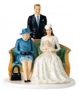 Royal Doulton Her Majesty Royal Christening NH5809 Queen Elizabeth 90th Birthday - $219.90