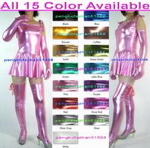 Sexy 15 Color Shiny Metallic Women Dress Skirt Sexy Women Party Dresses S934 - $45.99