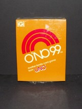 O'no 99 Card Game From Uno Vintage 1980 New Sealed (h) - $24.74