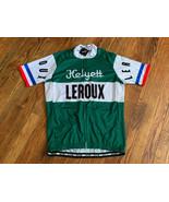 NWT Men's cycling Short Sleeve Helyett Leroux Cycling Jersey Size Medium... - $38.61