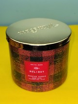 Bath & Body Works White Barn Holiday Scent Jar Essential Oil Candle 14.5 - $34.64